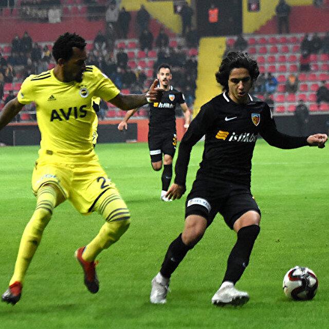 Kayserispor-Fenerbahçe: 0-0