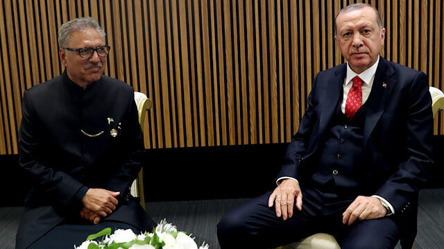 Erdoğan, Pakistan's Alvi agree to counter challenges facing Muslim ummah