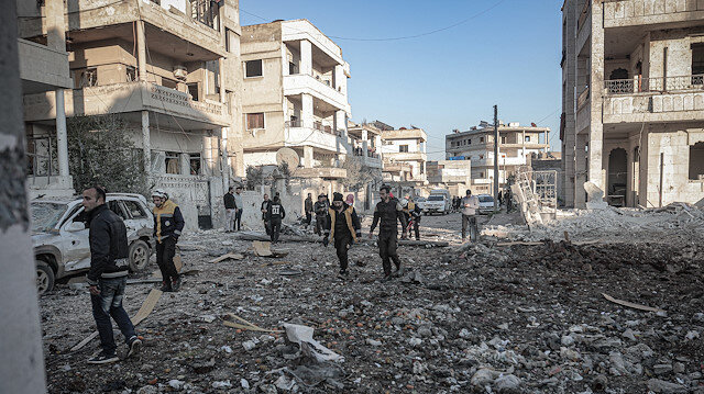 Regime attacks kill 17 civilians in Idlib, Syria