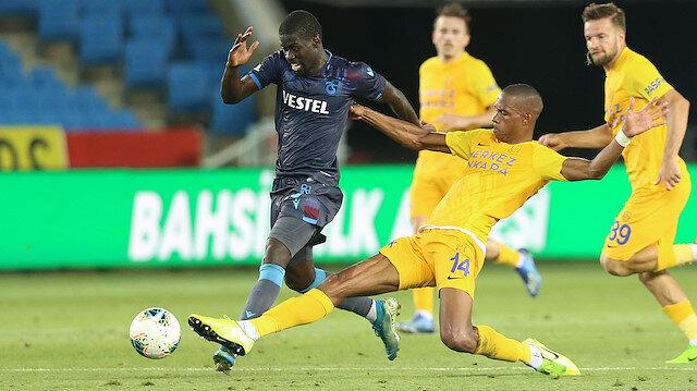 Trabzonspor yara aldı Ankaragücü umudunu korudu