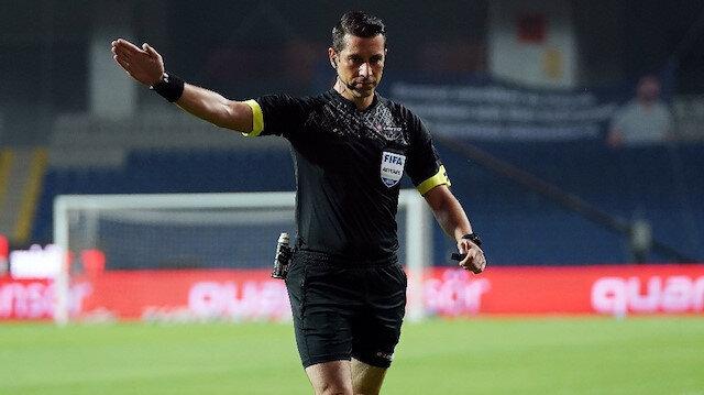 Başakşehir-Galatasaray maçında tartışılan an: Edin Visca kırmızı kart görmeli miydi?