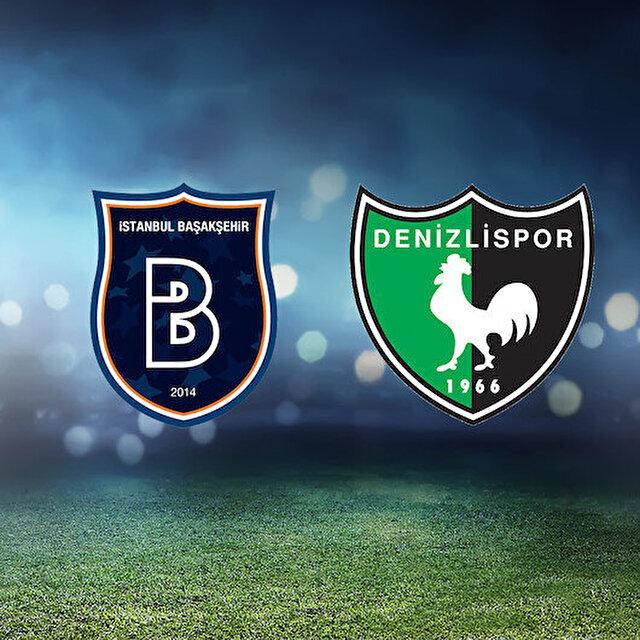Başakşehir-Denizlispor maçının muhtemel 11'leri