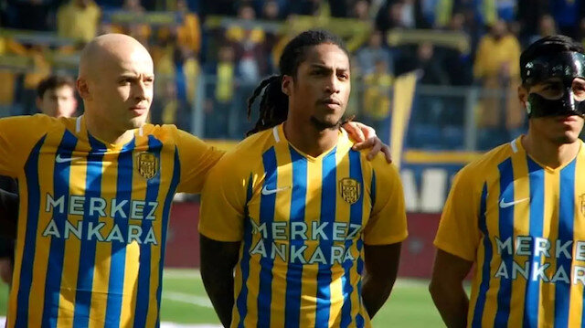 Ankaragücü'nde Gerson Rodrigues ile Ante Kulusic yumruk yumruğa kavga etti