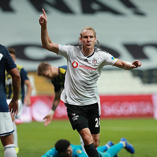 Beşiktaş'ta Domagoj Vida transfer tercihini yaptı