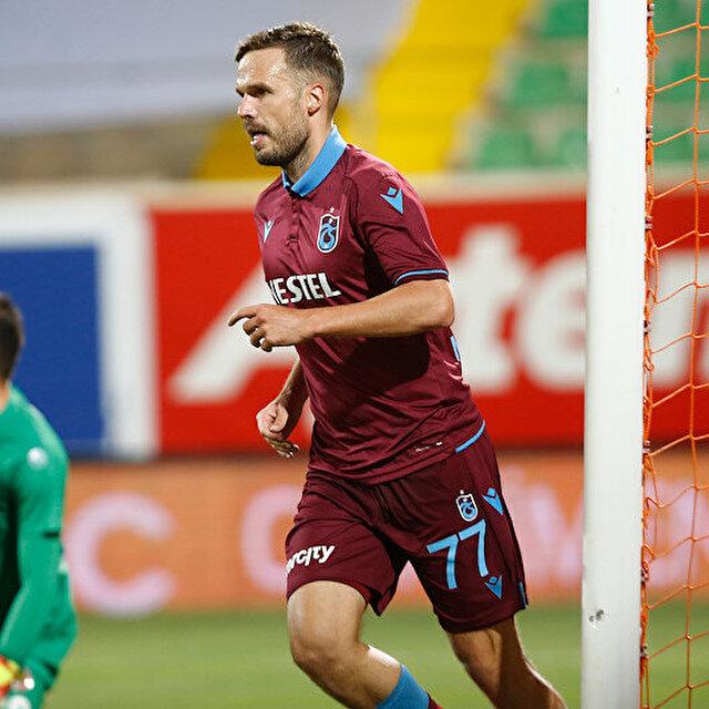 Trabzonspor'da Filip Novak camiaya veda etti
