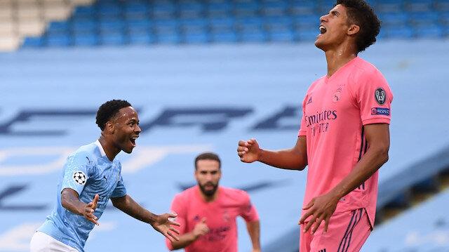 Varane Real Madrid'i yaktı, City çeyrek finale çıktı (ÖZET)