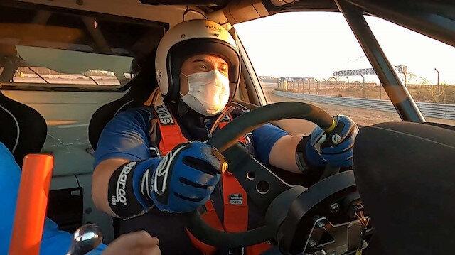 Bakan Varank F1 pistinde tehlike atlattı: Spin atarak pistten çıktı