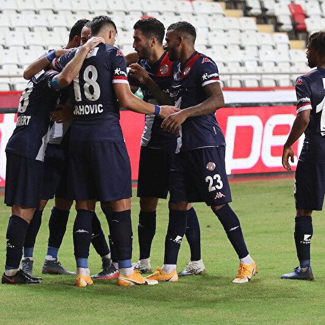 Antalyaspor lige Gençlerbirliği galibiyetiyle başladı