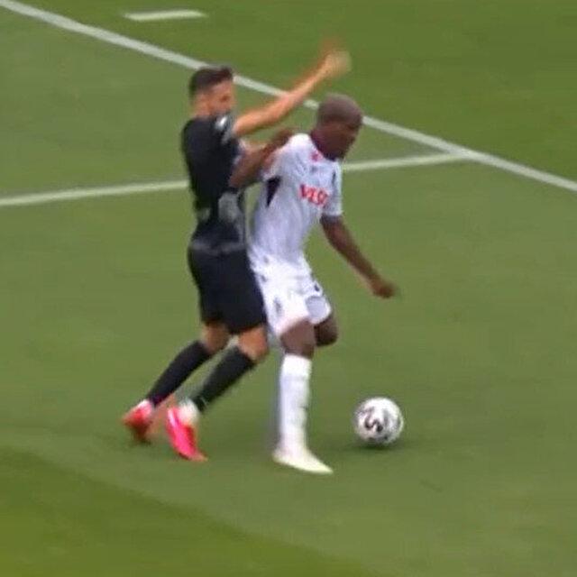 Volkan Bayarslan 'penaltı' verdi Yaşar Kemal Uğurlu izleterek iptal ettirdi
