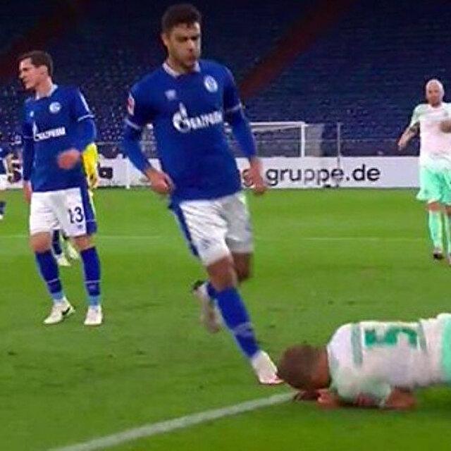 Ozan Kabak'ın Bundesliga'da yaptığı hareket geceye damga vurdu