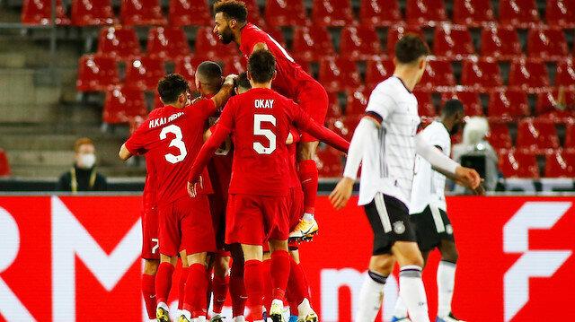 Ay-Yıldızlılar pes etmedi: Almanya'yı yıkan gol son dakikada geldi
