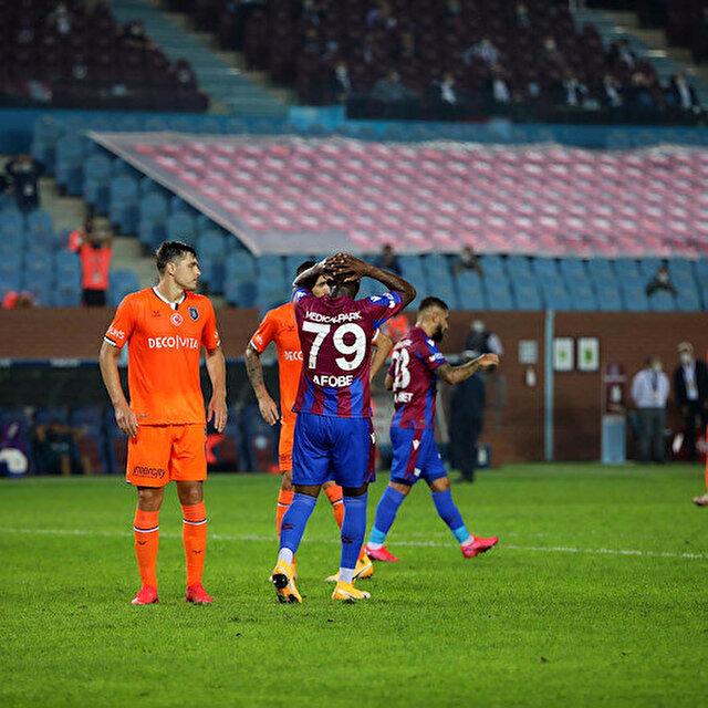 Başakşehir ilk galibiyetini deplasmanda Trabzonspor'a karşı aldı