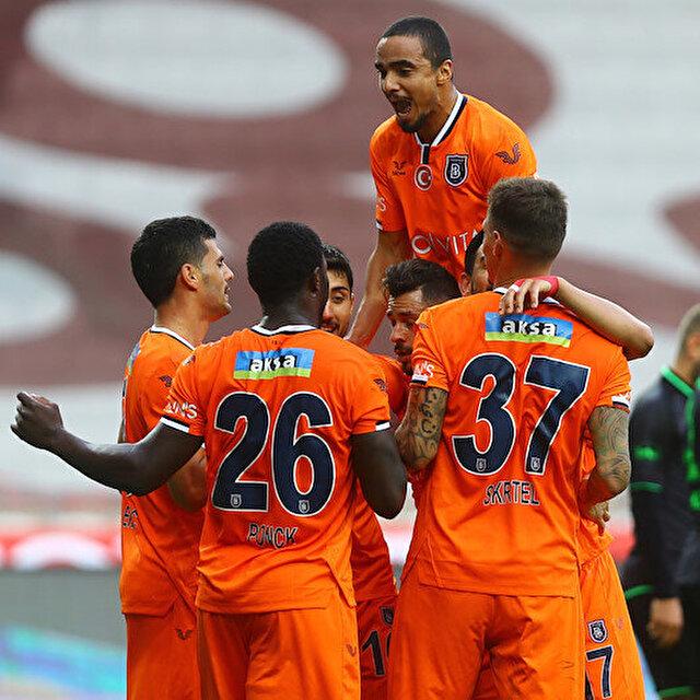 Başakşehir'den galibiyet serisi: 3 maçta 9 gol attılar