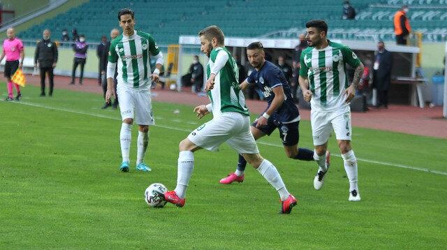 Kasımpaşa'nın serisine Konyaspor son verdi