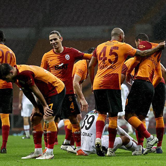 Galatasaray'dan Gençlerbirliği'ne gol yağmuru
