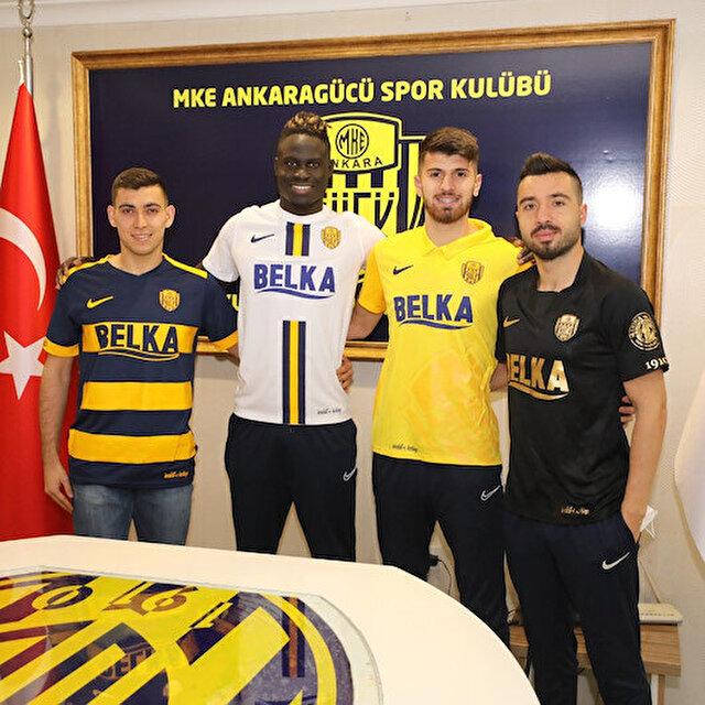 Ankaragücü 4 futbolcuyu birden açıkladı