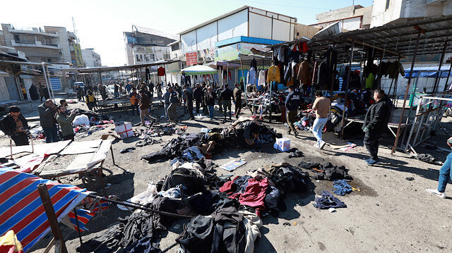 US condemns deadly twin suicide attack in Baghdad