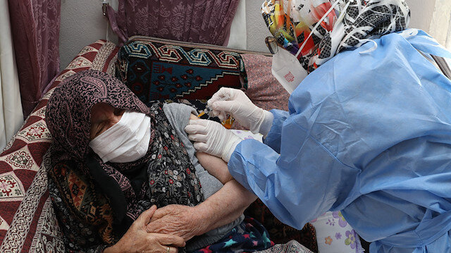 Vaccination for people over age 85 begins in Turkey