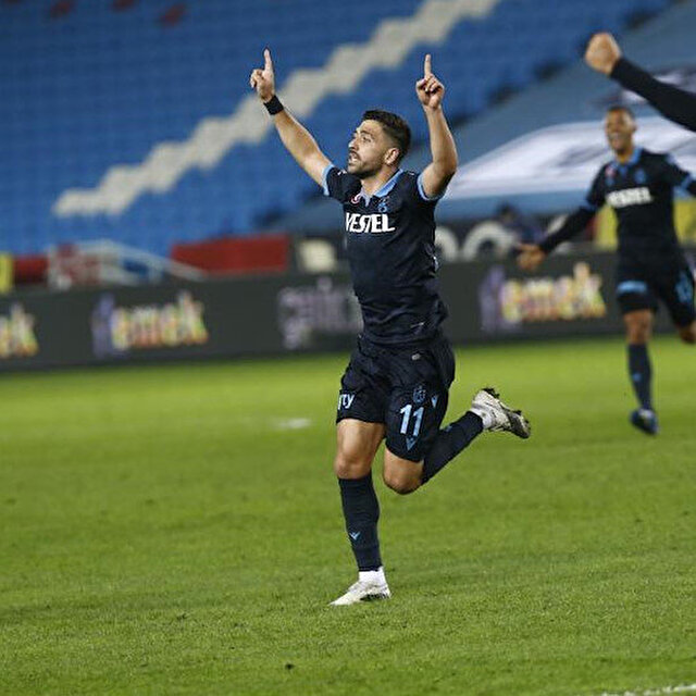 Trabzonspor'a üç puanı yeni transferi Bakasetas getirdi