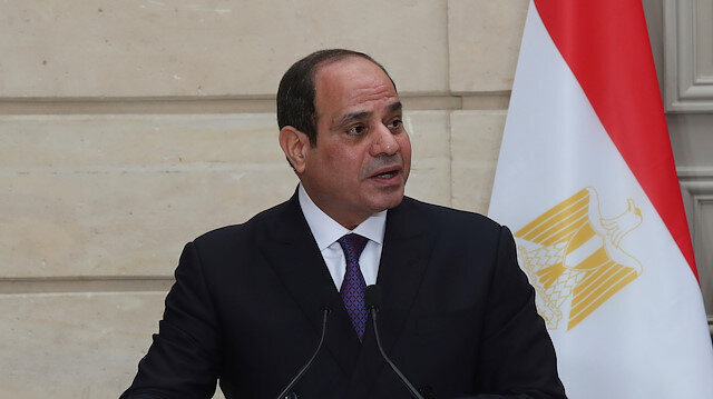 CENTCOM chief meets with Egypt's president