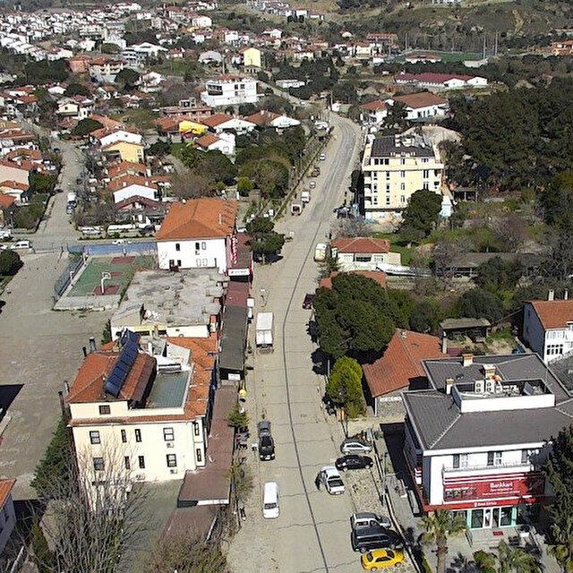 Türkiye'nin en büyük adası Gökçeada'da bir köy karantinaya alındı