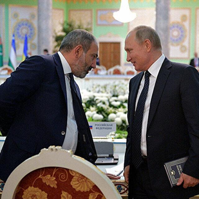 Paşinyan'dan Rusya'ya