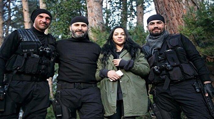 Bordo Bereliler Suriye filminin çekimleri başladı