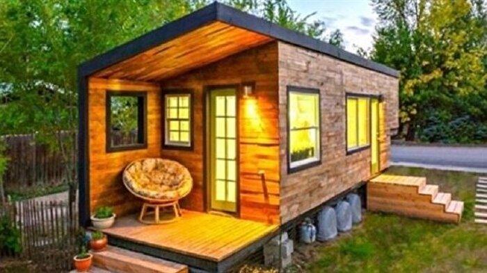 Kendisine 18 metre karelik bir yaşam alanı kuran mimar: Macy Miller