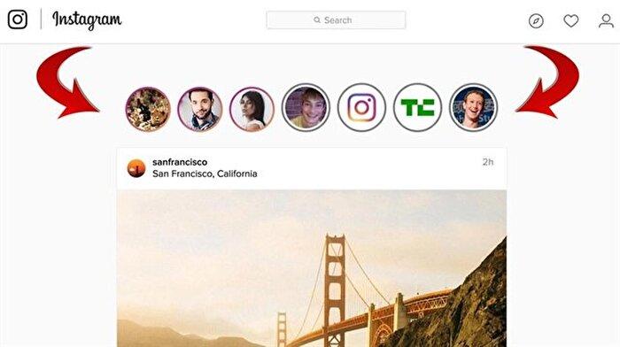 Instagram hikâyeleri bilgisayardan nasıl izlenir?