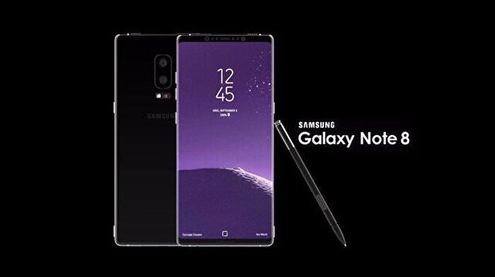 Sonunda: Samsung Galaxy Note 8'in gerçek fotoğrafı yayınlandı!