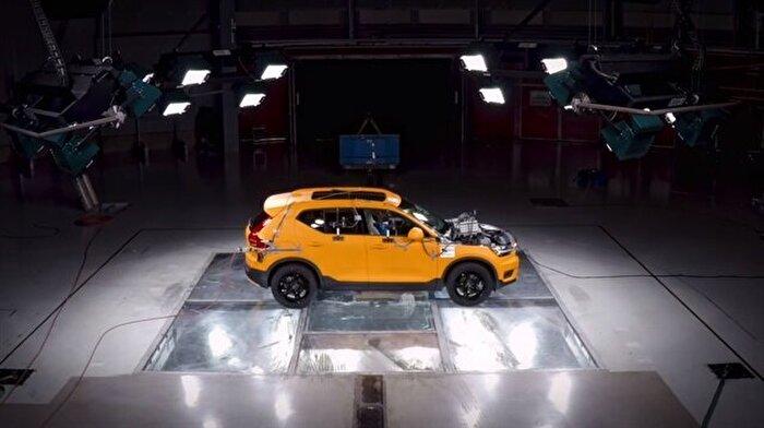 Volvo yine zirveye oynuyor: XC40'ın ilk test görüntüleri yayınlandı