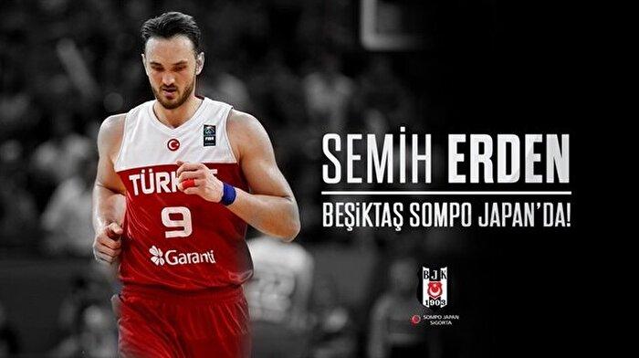 Semih Erden resmen Beşiktaş Sompo Japan'da