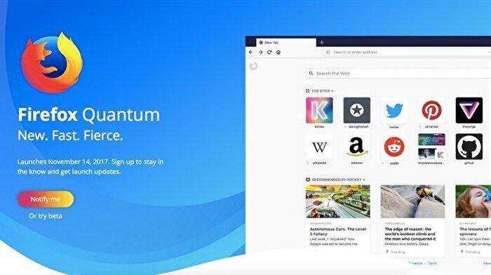 Mozilla Firefox Quantum'un 7 can alıcı özelliği