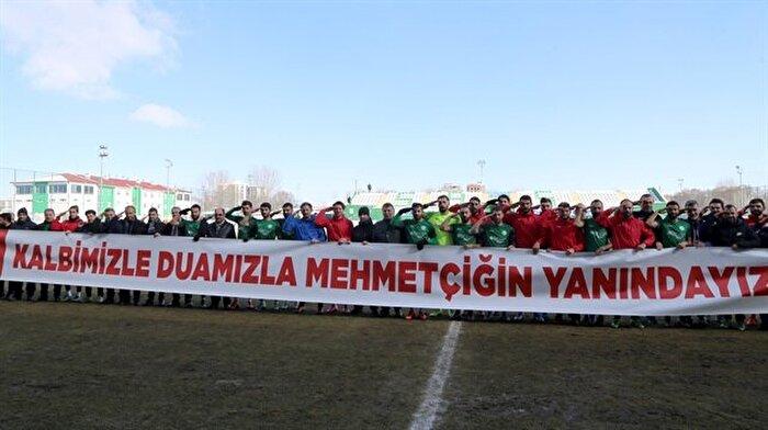 Maça çıkmayan Amedspor'a Sivasspor'dan asker selamı