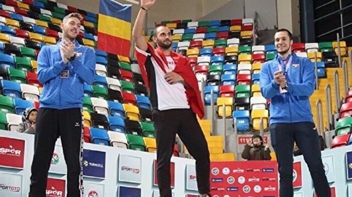 İki kez kanseri yenen Türk sporcu Balkan şampiyonu oldu