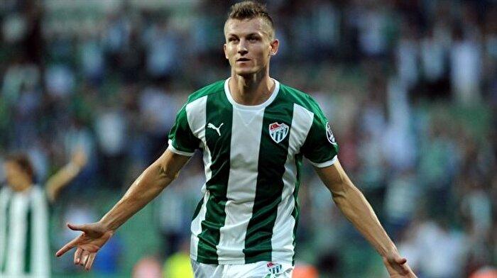 Bursaspor'da Tomas Necid ile yollar ayrıldı