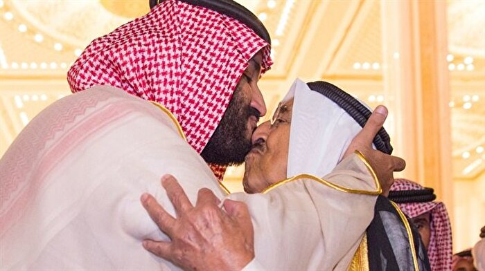 Bin Selman'dan Kuveyt'e üç saatlik ziyaret