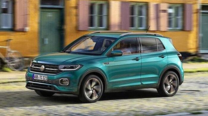 Volkswagen, yeni SUV'sini tanıttı: T-Cross
