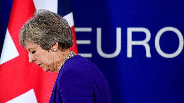 Brexit istifalarının ardından May'den ilk açıklama