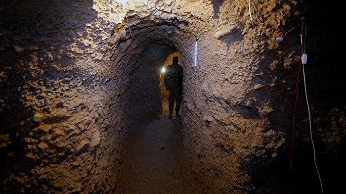 Hizbullah tünellerine karşı operasyon