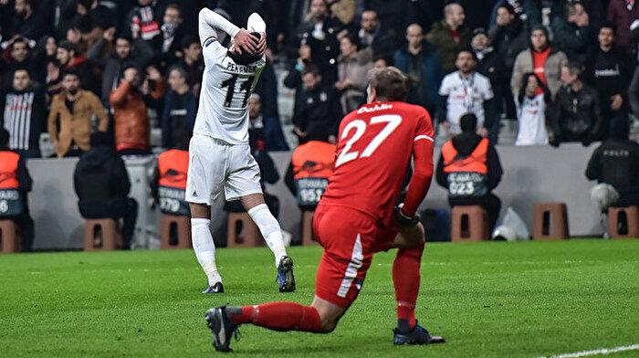 Beşiktaş, Avrupa defterini erken kapattı