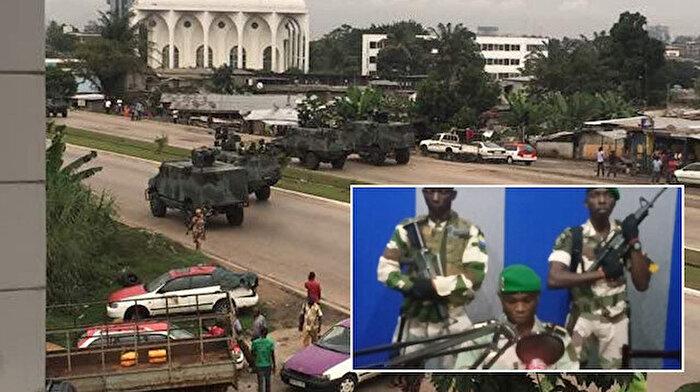 Afrika ülkesi Gabon'da askeri darbe girişimi