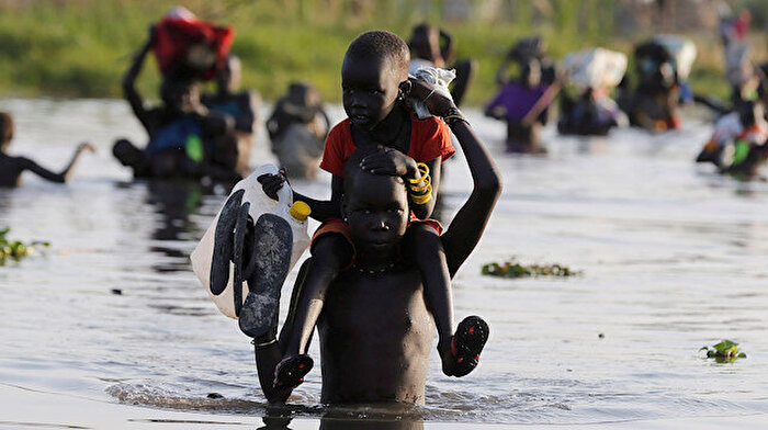 Afrika'da insanlık dramı