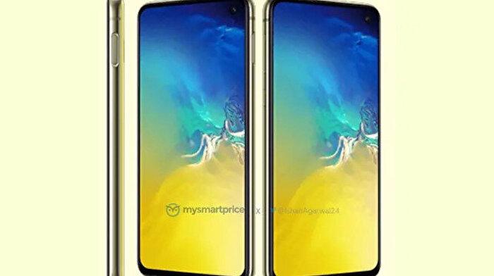 Samsung Galaxy S10e'nin kanarya sarısı rengi ortaya çıktı