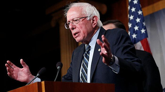 Trump'ın bir diğer rakibi senatör Sanders oldu
