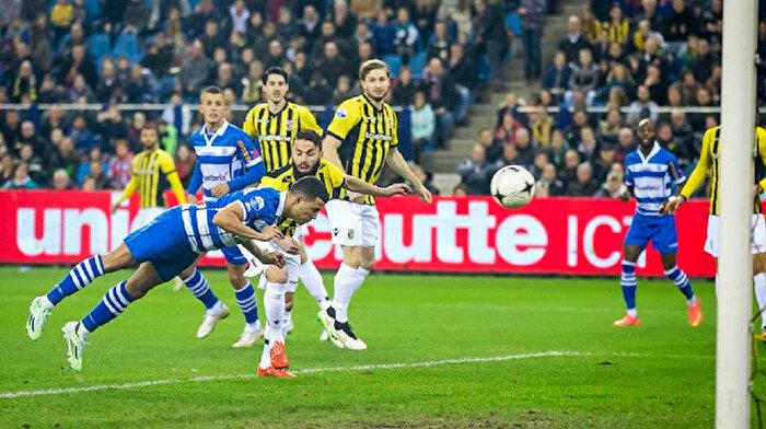Vitesse topla oynamadan maç kazandı