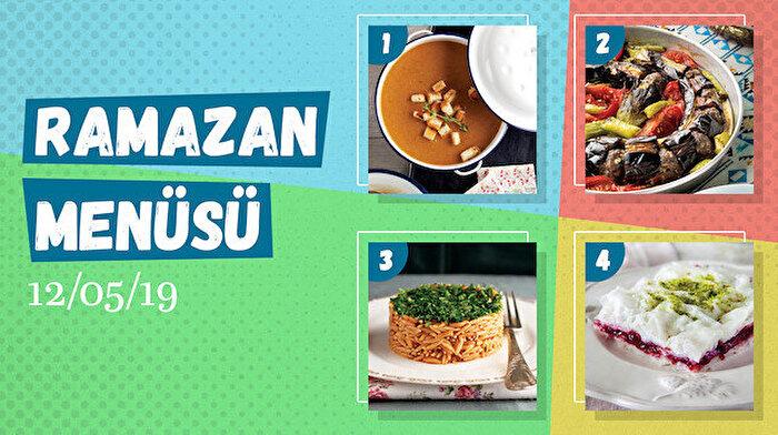 Ramazan ayına özel günlük iftar menüsü #7