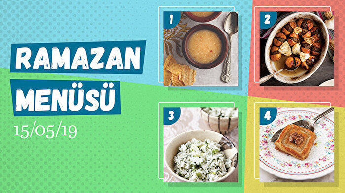 Ramazan ayına özel günlük iftar menüsü #10