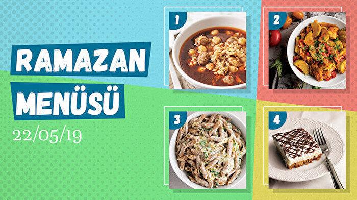 Ramazan ayına özel günlük iftar menüsü #17