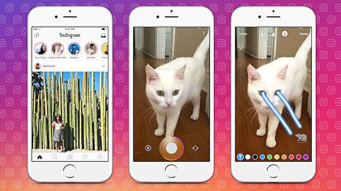 Instagram, yeni 'Hikayeler' özelliğiyle geldi